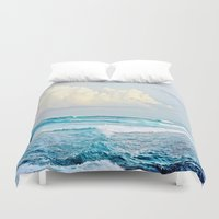 skyrim Duvet Covers featuring Water by Whimsy Romance & Fun