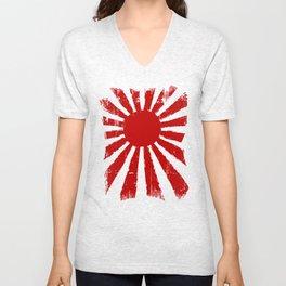 Japan Rising Sun Unisex V-Neck