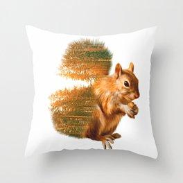 Peanut Cracker Throw Pillow