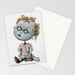 The Zombie Games (girl) Stationery Cards