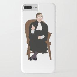 R.B.G: Judicial Badass iPhone Case