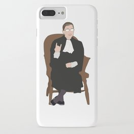 R.B.G: Judicial Badass iPhone Case