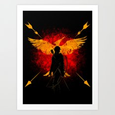Revolution and Fire Art Print