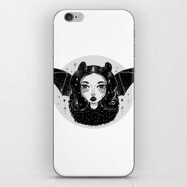 bat girl iPhone Skin