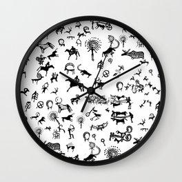 Kazy party Wall Clock