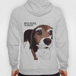 Bitch Please.  I'm Fabulous.  Beagle Hoody