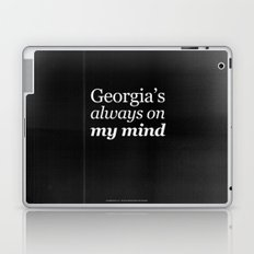 Georgia's always on my mind Laptop & iPad Skin