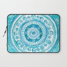 PEARLS OF WISDOM Mermaid Mandala Laptop Sleeve