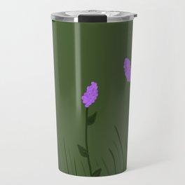 Lavender Flowers Travel Mug