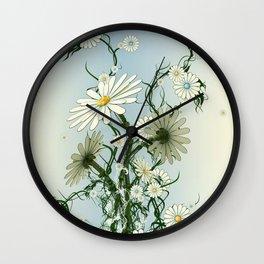 RoboFlower Wall Clock