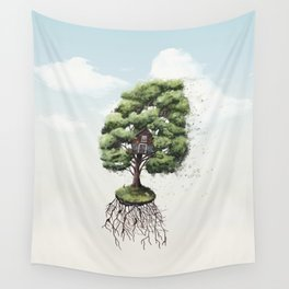 Wanderer's Retreat Wall Tapestry