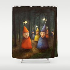 The Lost Brigade Shower Curtain