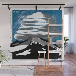 Lenticular Clouds. Wall Mural
