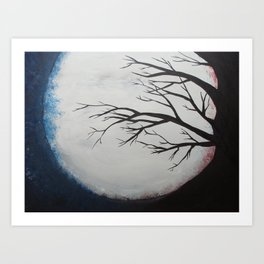Winter Slumber Art Print