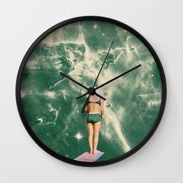 Space Olympics Wall Clock