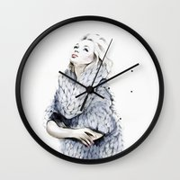 the neighbourhood Wall Clocks featuring Falling For You by anna hammer