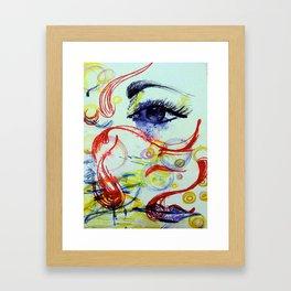 Open the Eyes of My Heart Framed Art Print