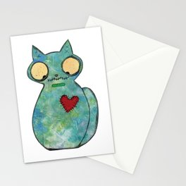 Zombie Cat Stationery Cards