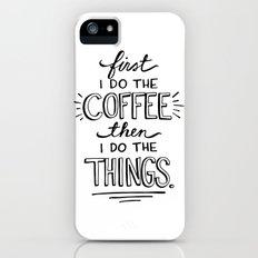 Coffee First Slim Case iPhone SE