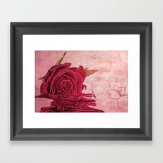 And this of all my hopes... Framed Art Print