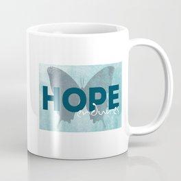 HOPE endures Coffee Mug
