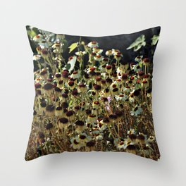 Autumn is coming now Throw Pillow