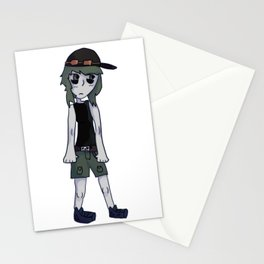 GUMI from vocaloid Stationery Cards