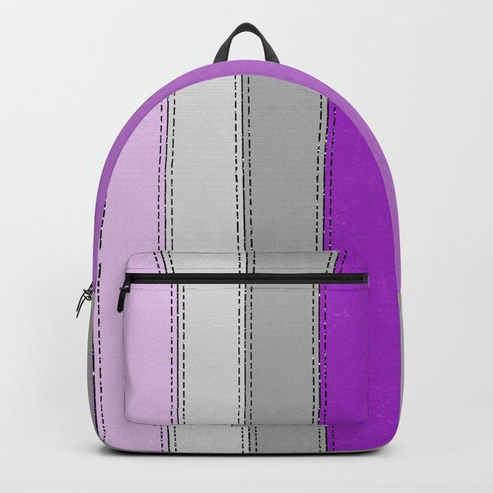 Purple lines Backpack