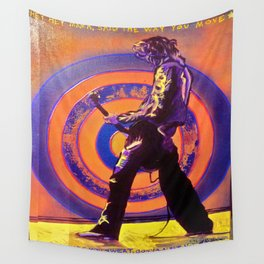 Abstract Jimmy Page Wall Tapestry