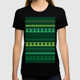 Clover Borders Pattern T-shirt