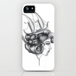 Maori Antoinette iPhone Case