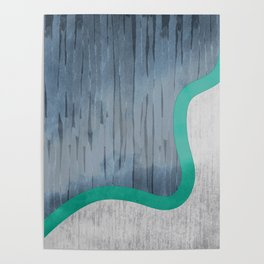 River Swoosh Poster