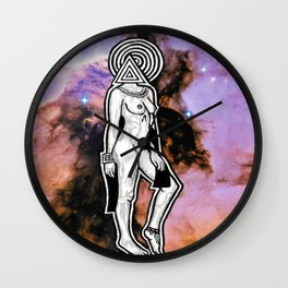 Space Lady Wall Clock