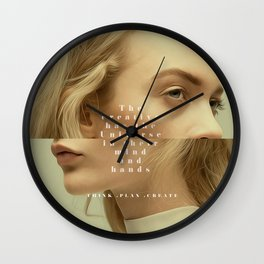 We Own The Universe  Wall Clock