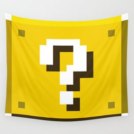 New Question Block Wall Tapestry