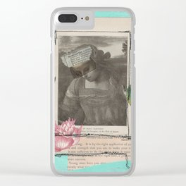 Mary Cleophas Clear iPhone Case