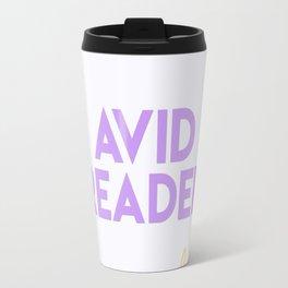 Avid Reader Travel Mug