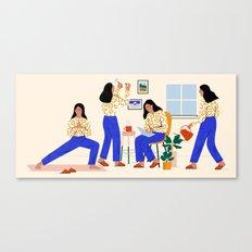 Smarter Living Canvas Print