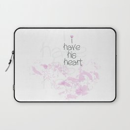 I have his heart Laptop Sleeve