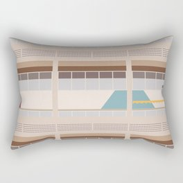 Cité Radieuse - Le Corbusier Rectangular Pillow