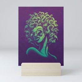 Funky Medusa Mini Art Print