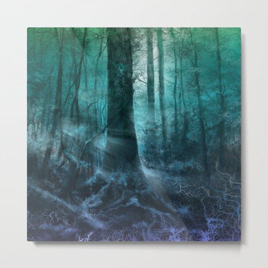 magical forest landscape Metal Print