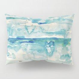 Miami Beach Watercolor #6 Pillow Sham