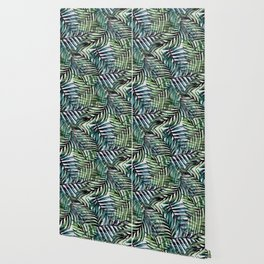 Palm Leaves Abstract Wallpaper