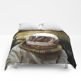 Nuclear gioconda Comforters