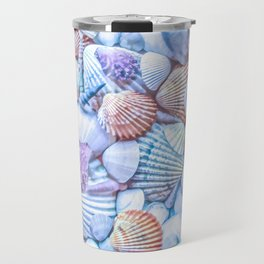 Seashells Everywhere Travel Mug