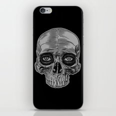 Behind the skull iPhone & iPod Skin