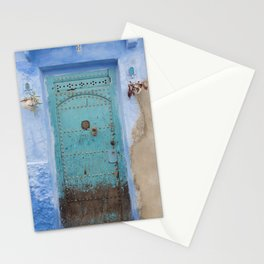 Doorways - Morocco - Chefchaouen The Blue City 8 Stationery Cards