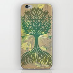 Color My World Green iPhone Skin