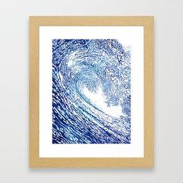 Pacific Waves IV Framed Art Print
